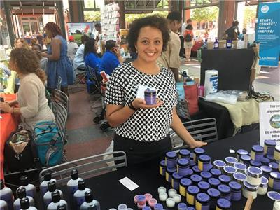 A vendor at DIVERSIFY 2017
