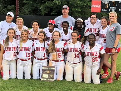 Ooltewah's Lady Owls defeated Walker Valley, 7-3, Wednesday to capture their third Region 3-3A softball championship in four years. Addy Keylon went 4-for-4 with a three-run homer to drive in six runs. Kayla Boseman threw a three-hitter and struck out 18, including 12 in a row during one stretch.