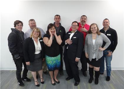 OFW team pictured in 2018 (from left to right) Marley Lentz, Carl Hames, Julia Fienga, Beverly Jerman, John Jerman, Jason Flowers, Theresa Johnson, and Mark Kleiner