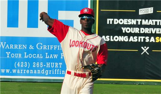 Nick Gordon will be with the Rochester Red Wings when the Lookouts open their next homestand Wednesday evening.