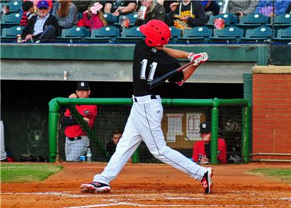 Ryan Walker had a good day at the plate going 2-for-3.