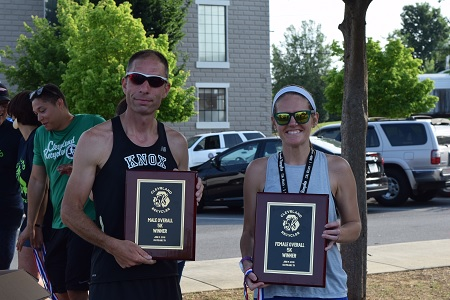 Chad Dean and Ashley Fugate were the overall men's and women's division winners