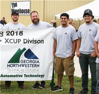 The four GNTC students that will serve as drivers and navigators on Team DeSoto are (from left to right) Nicholas Barber, Adam Grogan, John Valle, and Zayne Waits. All four students are residents of Cedartown.