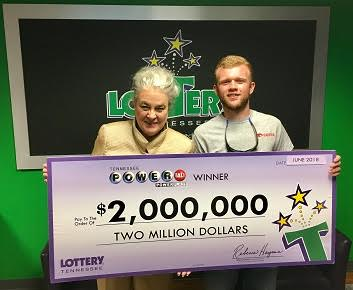 Matthew Reed won the Powerball Lottery on Saturday