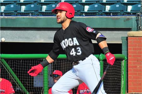 Zander Wiel had the only extra base hit for the the Lookouts, a solo home run.