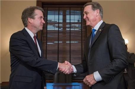 Senator David Perdue and Judge Brett Kavanaugh