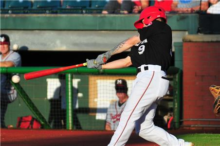 Tanner English's 15th double drove in the Lookouts first two runs.