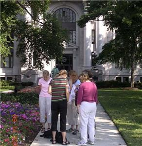 Prayer walk at the Courthouse