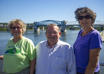Nancy Brice, Larry Clark and Christine Hunt have been organizing and participating in Tennessee River Rescue since 1988. On Saturday, Oct. 6 they will celebrate 30 years of volunteerism to help improve the health of local waterways.
