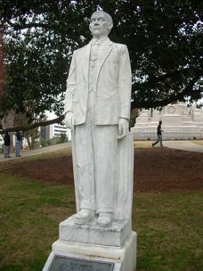 Statue at Montgomery honoring Albert Patterson