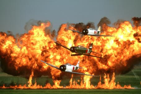 Tora, Tora, Tora's Wall of Fire