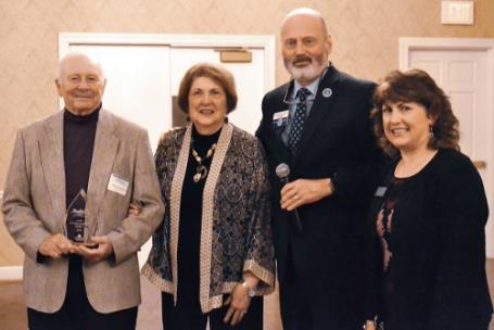 Pictured, from left, are Dr. Spencer Culbreth, Mrs. Ann Culbreth, Cleveland State Community College President Dr. Bill Seymour and Cleveland State Foundation Executive Director Christa Mannarino