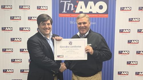 TNAAO Executive Director Will Denami and Hamilton County Assessor of Property Marty Haynes