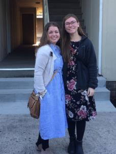 Pictured, left to right, Sister Warburton and Sister Burch
