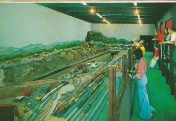 Model railroad display was once at the Chattanooga Choo Choo