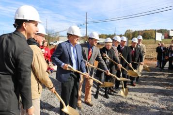 The Humane Educational Society of Chattanooga celebrated the groundbreaking for its new, long-awaited animal facility on Thursday. Named after contributors John and Trish Foy, the Foy Animal Center will be over will be able to house over 300 dogs and cats.