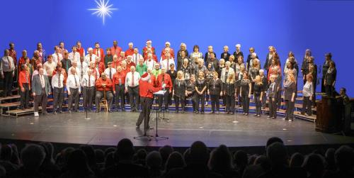 The Choo Choo Chorus and the Scenic City Chorus will join to bring acapella Christmas music on Saturday, Dec. 14