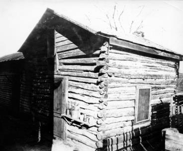 The Cabins where Thomas Crutchfield lived