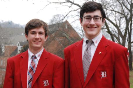Baylor seniors Jackson Collette, left, and Ryker von Klar have been selected as candidates for a 2019 U.S. Presidential Scholars Award