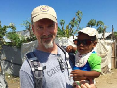 One of Bobby Stone's visits to Haiti with Children's Nutrition Program of Haiti