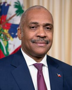 The Honored Prime Minister of Haiti Dr. Jack Guy Lafontant