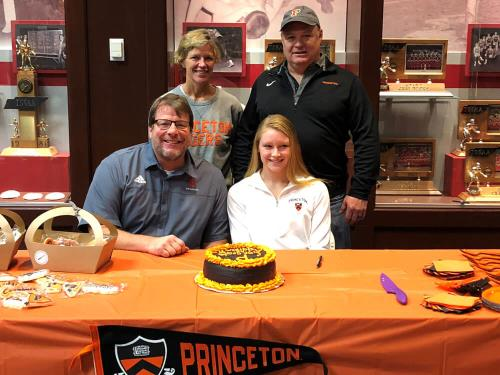 Baylor School Swim Club Athlete Addison Smith Will And Attend Princeton University Located In New Jersey Next Year