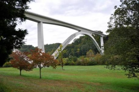 The Natchez Trace Bride in Williamson County is an icon of the parkway