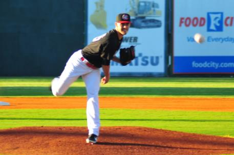 Jordan Johnson suffered his first loss of the season for the Lookouts.