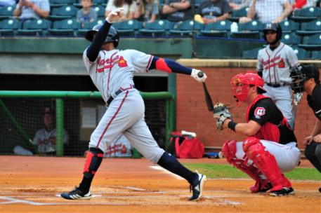 Cristian Pache paced the M-Braves hitting his second home run of the series and scoring two runs.
