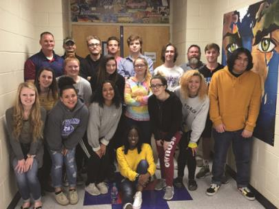 Dual enrollment students in Cleveland State's First Year Seminar class at Cleveland High School raised money to help their special needs classmates attend the CHS Prom at the Museum Center at 5ive Points on May 4