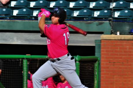 Alex Kirilloff, 21-year old Blue Wahoos first baseman, is the Minnesota Twins No. 2 Major League prospect.