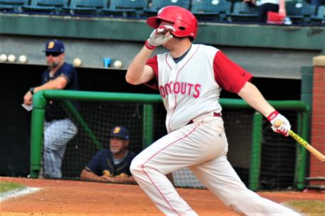 Gavin LaValley led the Lookouts offensively going 3-for-4 at the plate.