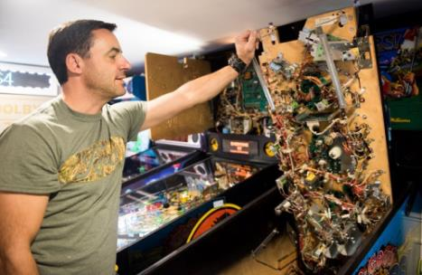 Allan Chambers reveals the complicated electronics that go into a pinball machine