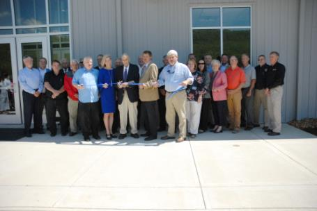Pictured are state officials, Marion County, and Chattanooga State officials who assisted with the ribbon cutting