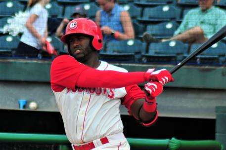 Ibandel Isabel now leads the Southern League following his 11th home run of the season Thursday night.