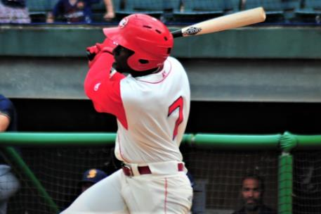 Taylor Trammell, Cincinnati Reds' top Minor League hitting prospect, went 2-for -5 - including his fourth homer of the season