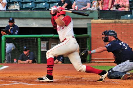 Catcher Tyler Stephenson went 2-for-3 with an RBI for the Lookouts.