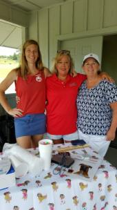 From left, volunteers Amy Kratz of Erlanger Hospital, Wanda Woodard of ACT and Claire Groober