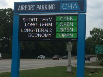 With passenger numbers continuing to increase at the Chattanooga Airport, additional parking is being provided