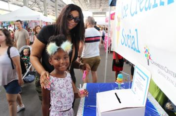 The 15th annual Ice Cream Social at the Chattanooga Market was held on Sunday