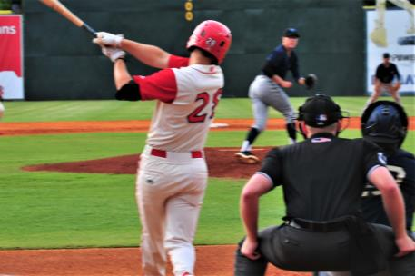 Brantley Bell's fifth inning solo home run, his 6th of the season, provided the first run of the game for Chattanooga.