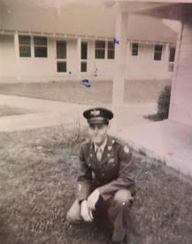 19-year-old Wayne Shearer in Pine Bluff in 1944