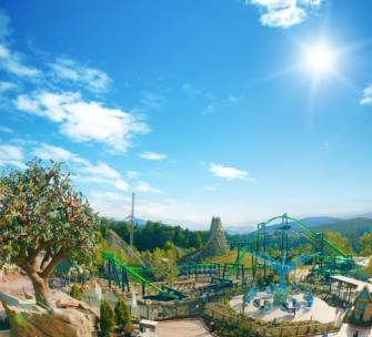 Dollywood's Wildwood Grove Expansion is one of the projects fueling economic growth in the state