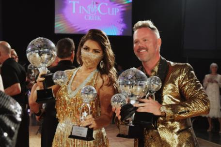 Dare to Dance People's Choice Champions Amanda Plecas and Matt Brock