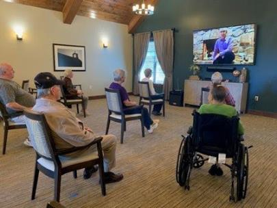 Legacy Village of Cleveland residents and Lee University engage through music with the online Encore program