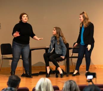 "The Lee University Opera Theatre, directed by James Frost, will present its Musical Revue, ""The Show Must Go On"" on Sunday at 3 p.m."