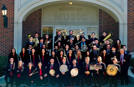 Lee University Symphonic Band in 2019