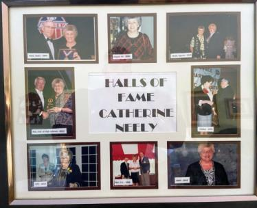 The late Catherine Neely was a member of multiple Halls of Fame.