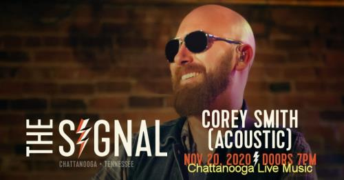 Corey Smith returns to a sold out social distant concert at The Signal on Friday