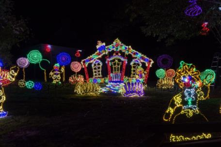 Rock City Christmas Lights 2020 Rock City's Enchanted Garden Of Lights Opens Nov. 20